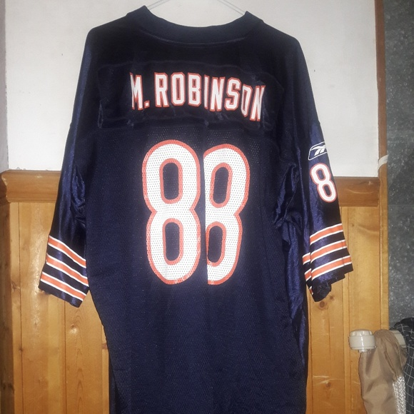 innovative design 61b33 802a8 Reebok Chicago Bears Marcus Robinson jersey, XXL